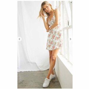 Forever 21 Floral Cami Midi Dress